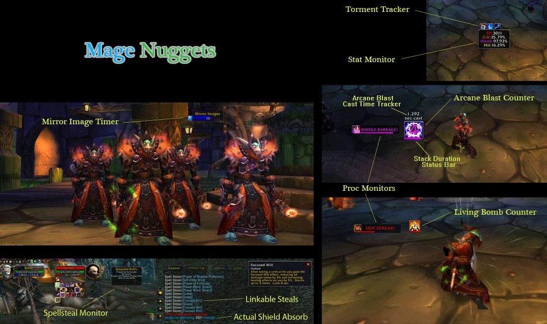 Mage Nuggets - Аддоны - Каталог файлов - Сайт гильдии Стикс